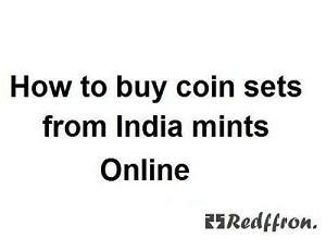 How to buy coin sets from India mint ( RBI ) online